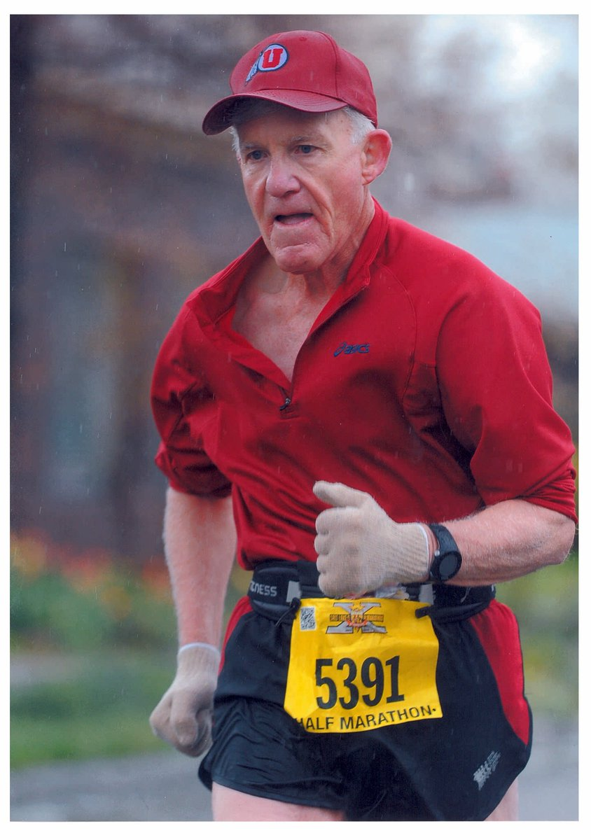 Jim Michie, inspired by Johnny Kelley, here to run Boston Marathon at 80