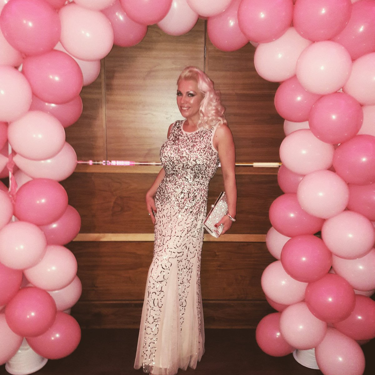 Last night at the ball in aid of heredetary breast cancer x CHuLdZnQBi