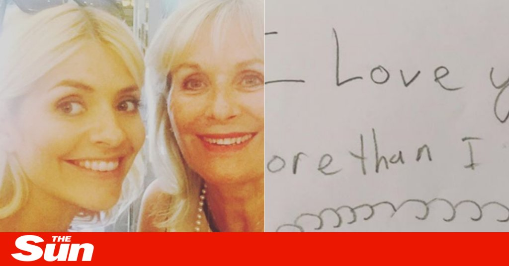 Amanda Holden cuddles her daughters as stars including Kerry Katona, Holly Willoughby and David Beckham share the love on Mother's Day