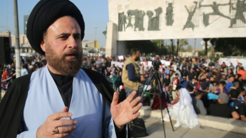 Iraq's Sadr and communist sickle join forces for election