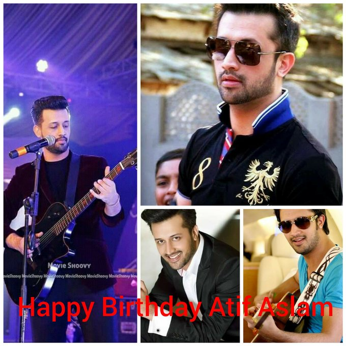 Happy Birthday Atif Aslam.