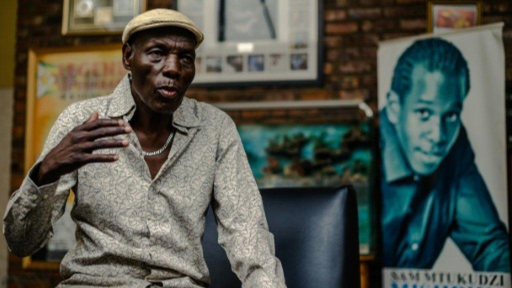 'Drop in, play, learn': Zimbabwe music legend Tuku's open door to new talent