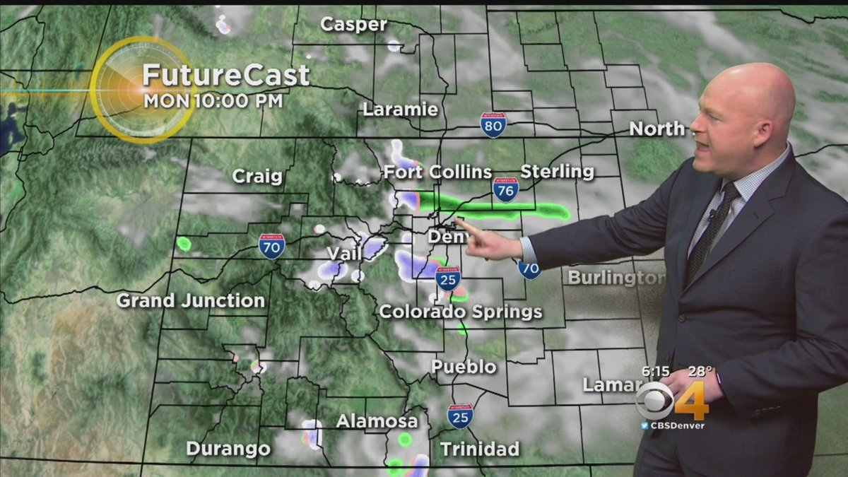 Latest Forecast: Mostly Sunny With Less Wind Today