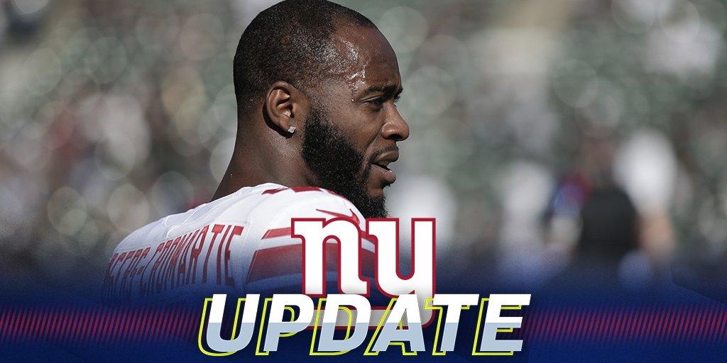 Giants release CB Dominique Rodgers-Cromartie: https://t.co/KRTwPRHH6h https://t.co/hx92yH3fOW