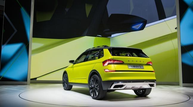 Salon de Genève: Skoda Vision X, le SUV hybride au gaz naturel