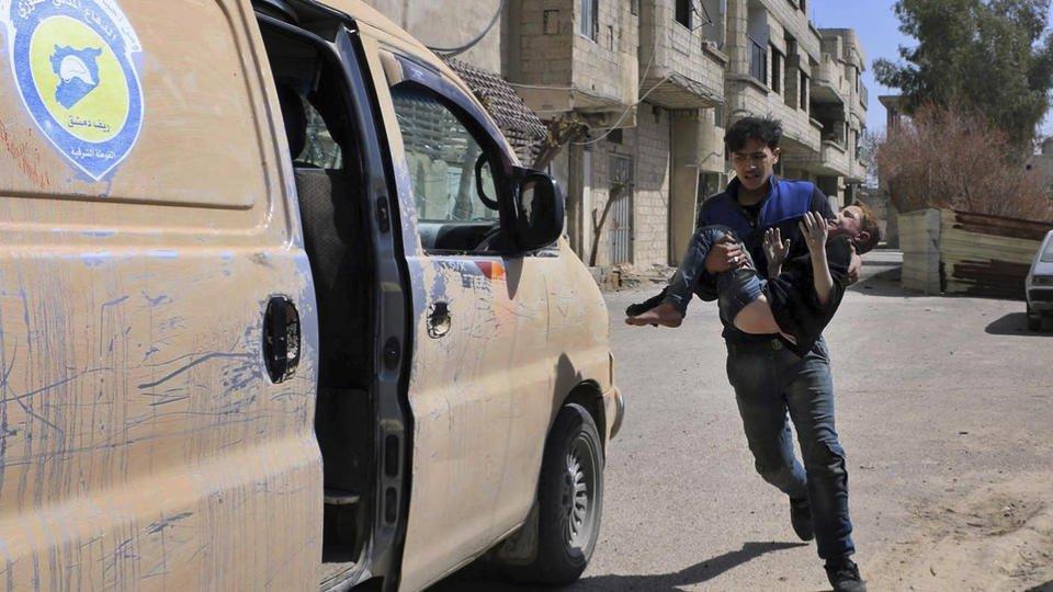 Syrian army cleaves rebel enclave of eastern Ghouta