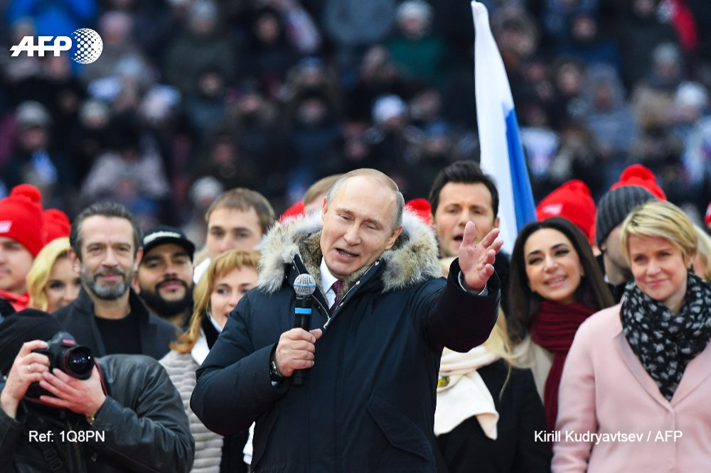Five key points in Russia's 'no surprises' presidential campaign
