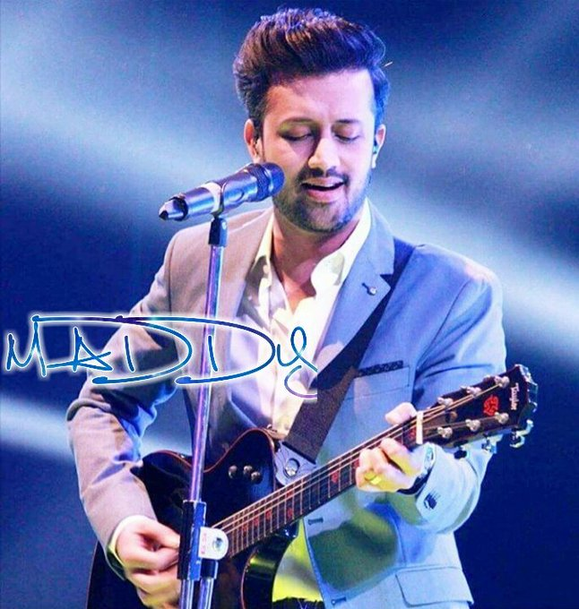I wish you a very Merry Birthday and a Happy Next Year! Happy Birthday! Dear Atif Aslam
