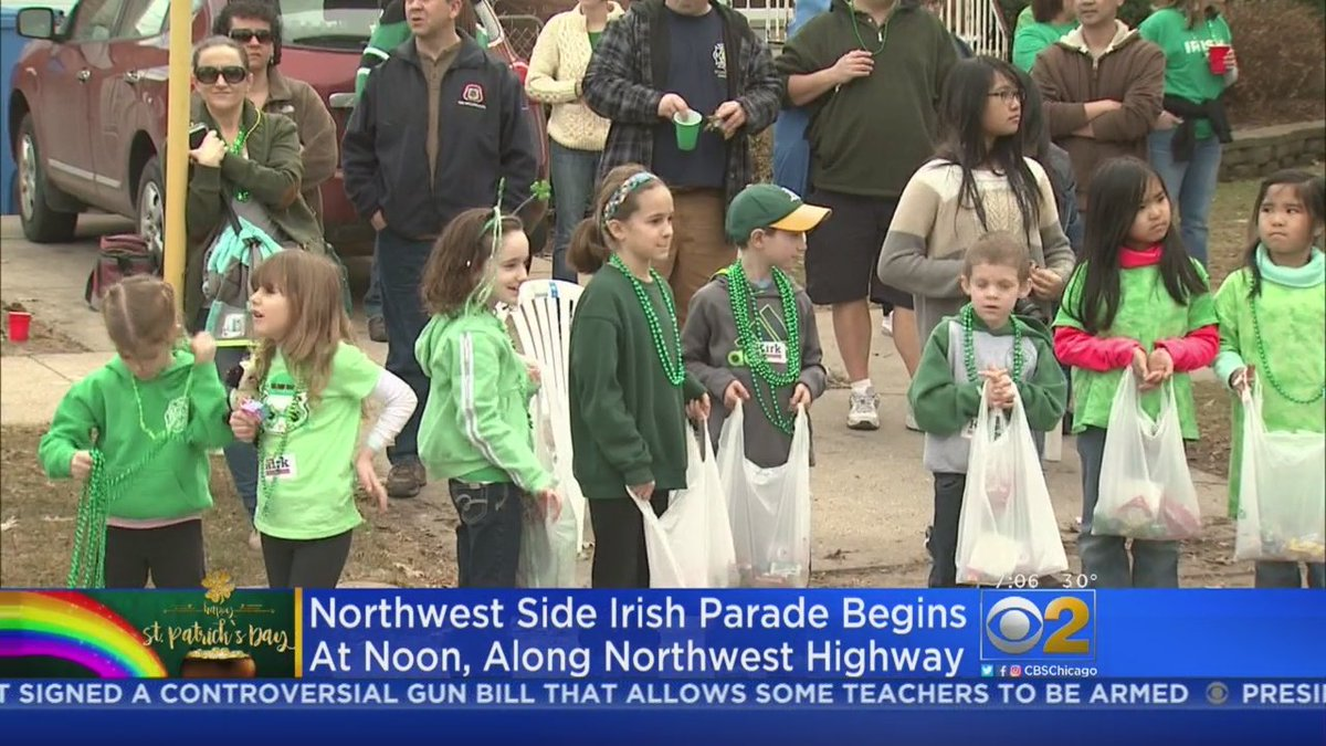 Chicago Irish Parades Get Underway