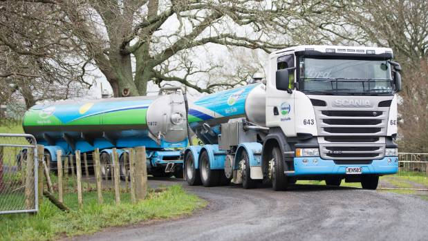 Weather woes lower Fonterra's NZ milk collection by 2 per cent