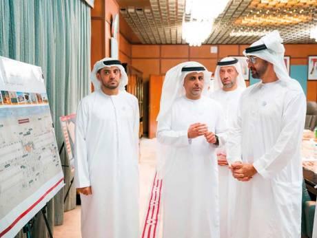 Mohammad visits Abu Dhabi Municipality