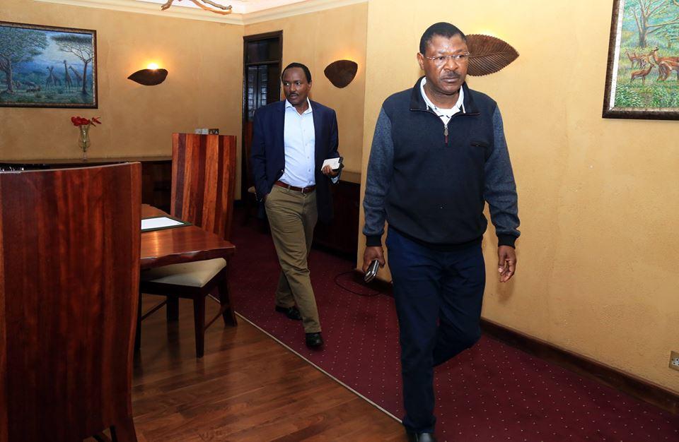 Kalonzo, Wetangula in six hours marathon meeting after Raila abandoned them for Uhuru