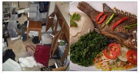 Daring gangsters lock themselves in businessman's house for a week and eat ugali, fish