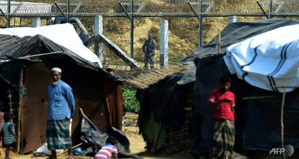 Myanmar erects security structures atop burned Rohingya land: Amnesty
