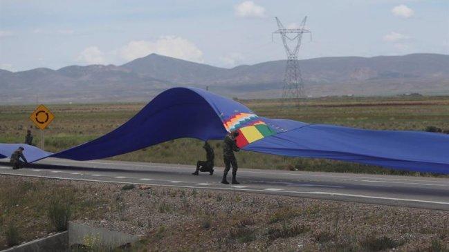 Bandera de la demanda marítima será expuesta en museo militar boliviano