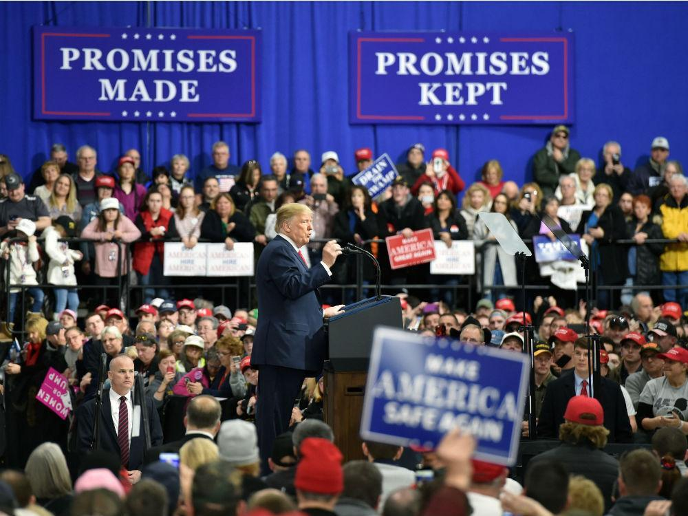 'Keep America Great': Trump previews 2020 campaign at Pennsylvania rally