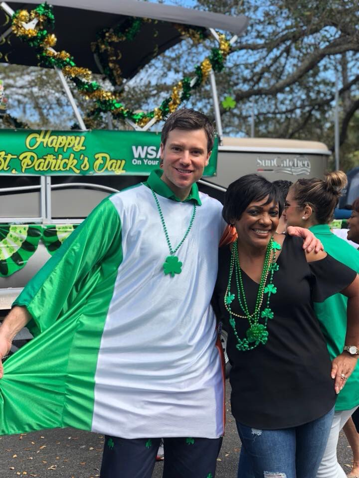 RT @WSAVBenS: Perfect weather for the HHI St. Pat's parade.... #WereOnABoat @wsav @WSAVTinaTS https://t.co/tvr8RZTml8