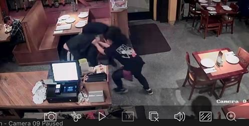 'Thai Noon' waitress stops thief from stealing tip jar