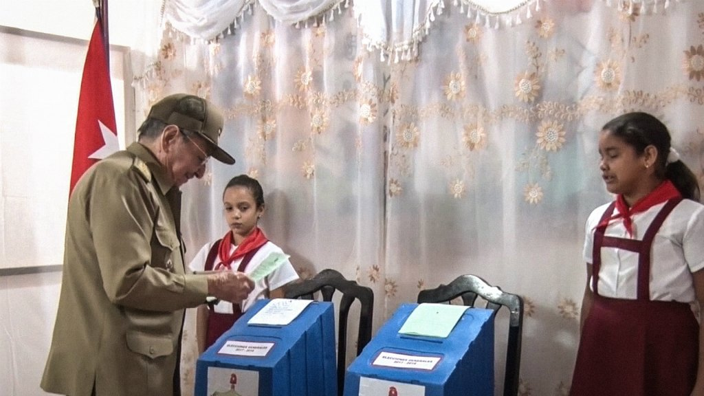 Cubans vote as Castro era nears end