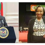 Uhuru mourns death of Citizen TV anchor Kanze Dena's father