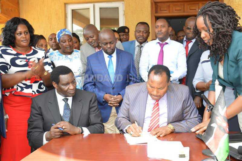 Showdown looms as Waititu orders all bars closed in illicit brew crackdown