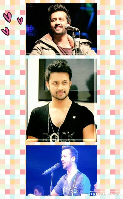Happy birthday Atif Aslam my best ever singer