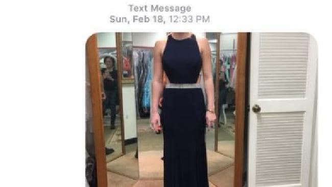 Amazing thing that happened when this girl sent photos of a dress to a wrong number
