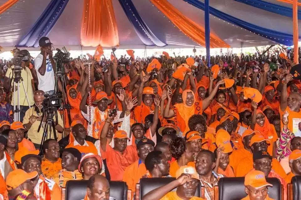 ODM calls on its supporters to back Raila after he reconciled with Uhuru