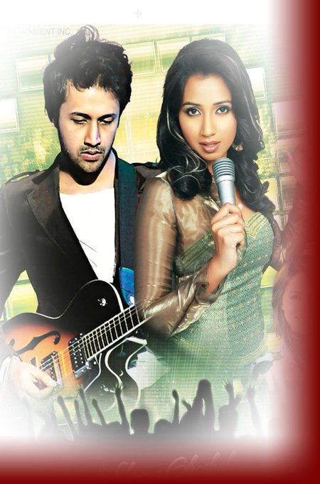 Happy Birthday to Shreya Ghoshal Ma\am and Atif Aslam Sir.