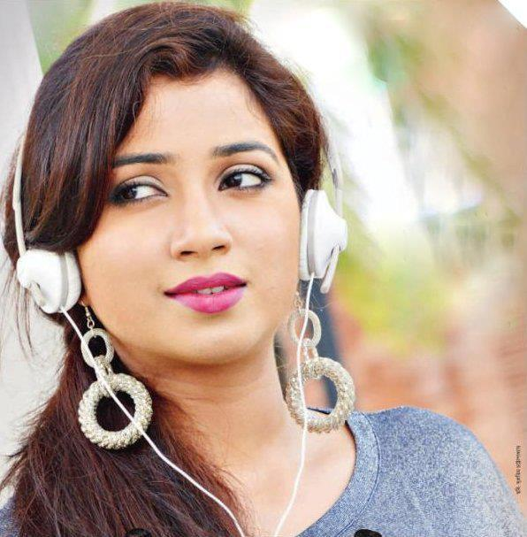 Here\s to the beautiful women with a lovely voice!  Happy Birthday Shreya Ghoshal
