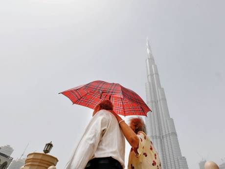 Dusty weather a trigger for allergic attacks