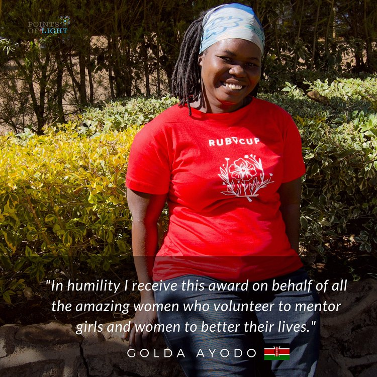 Kenyan volunteer Golda Ayodo recognized with Commonwealth award