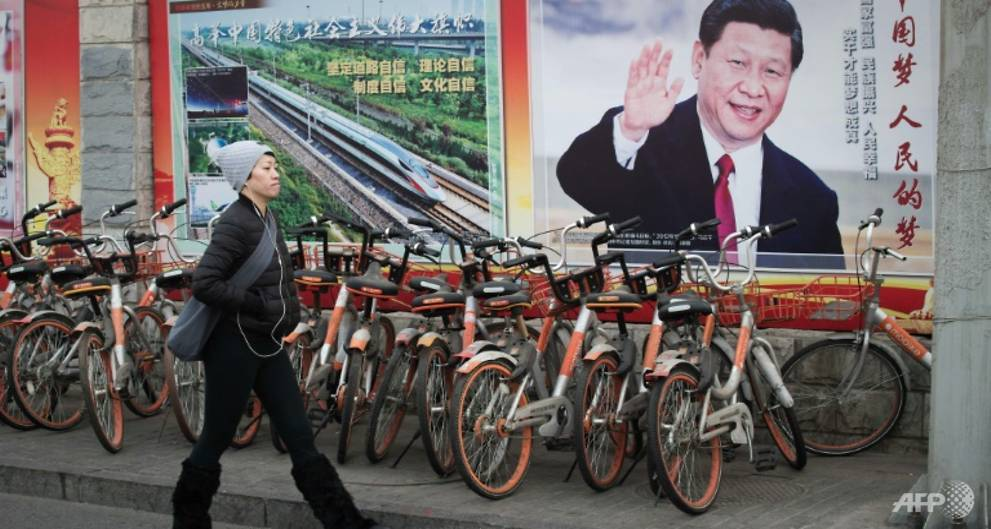 China's Xi calls for military loyalty to new constitution
