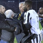 Greece suspends soccer league following pitch invasion