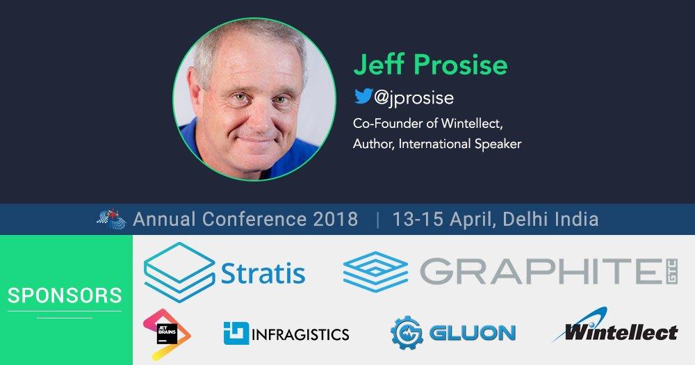Meet Jeff Prosise At CSharpCon18 Keynote