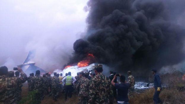 At least 40 dead as US-Bangla plane veers off runway
