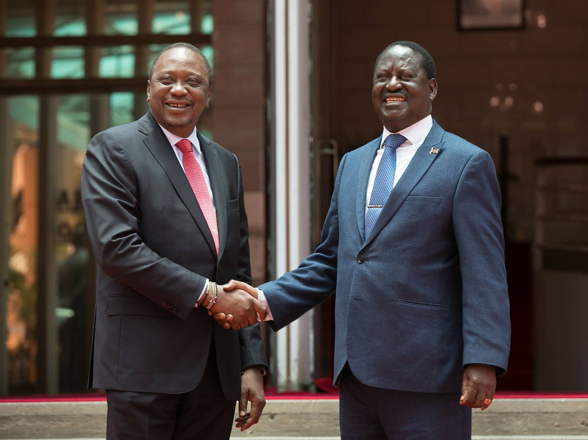 President Uhuru's big vision for Kenya pushed him to meet Raila