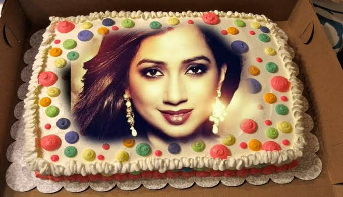 Happy birthday ! ! ! My favourite singer Shreya ghoshal