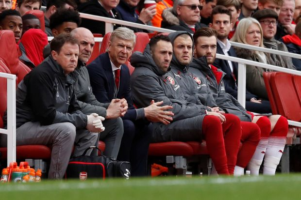 Poor attendances at Arsenal home games a worry for Wenger