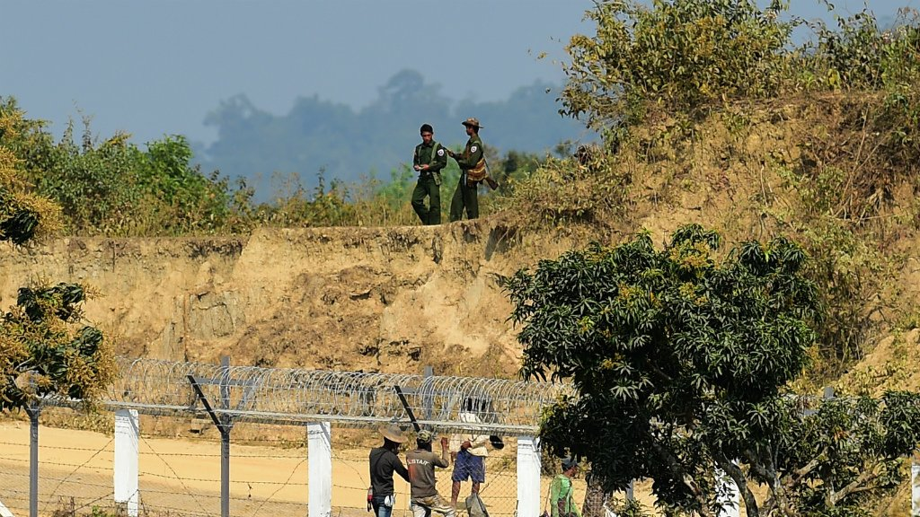 Myanmar's army is building on razed Rohingya land, says rights group