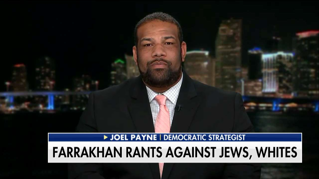 Joel Payne on @foxandfriends: 'There's no place for anti-Semitism in the public discourse.' https://t.co/jumgrHz1No