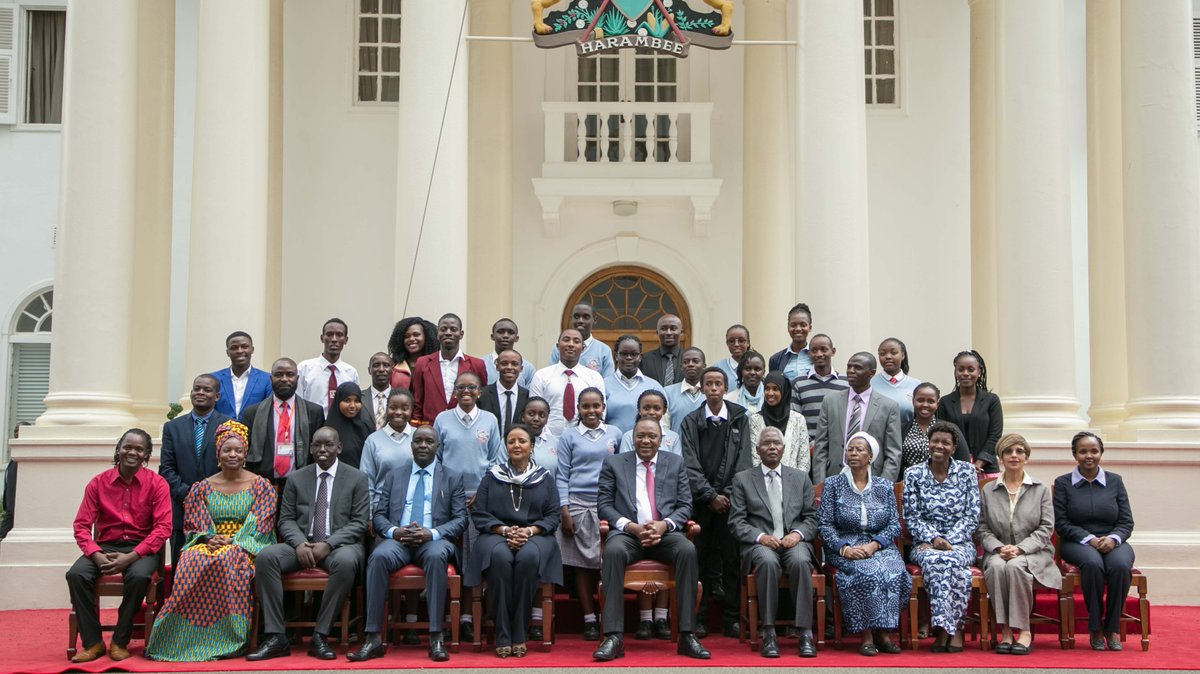 You're our greatest asset, President Kenyatta tells the youth