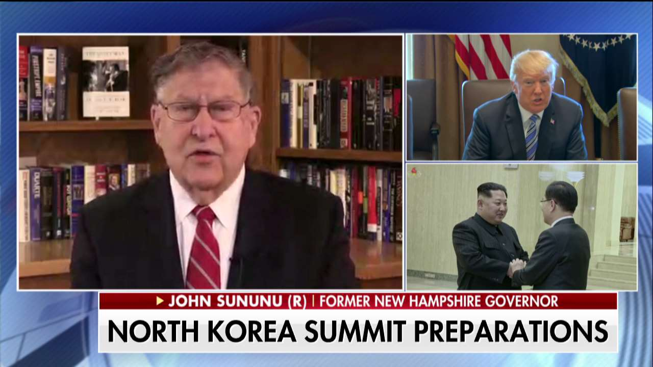 "John Sununu on Trump-Kim Jong Un summit: ""The timing is always right for such a meeting."" https://t.co/oXwE5jEHEL"