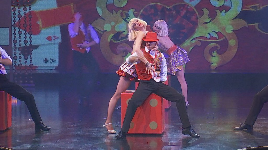 The 'Royal Palace' cabaret: From France to Ukraine and back!
