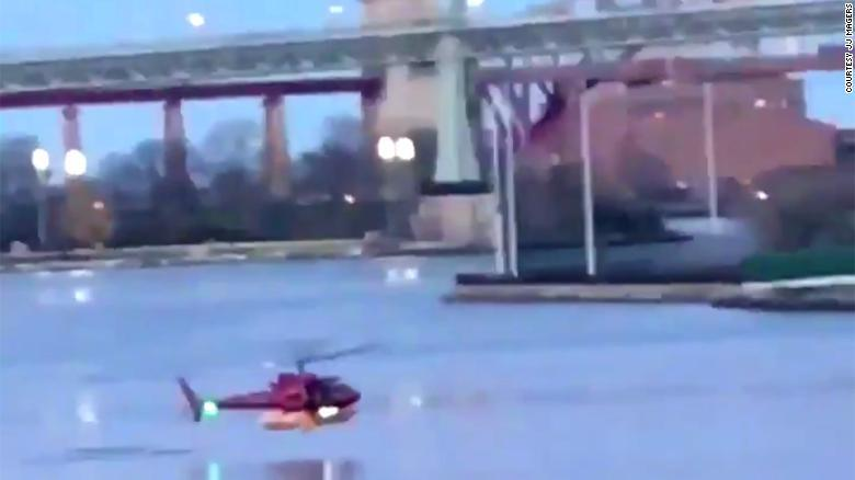 Five dead, pilot is sole survivor of helicopter crash in NYC's EastRiver