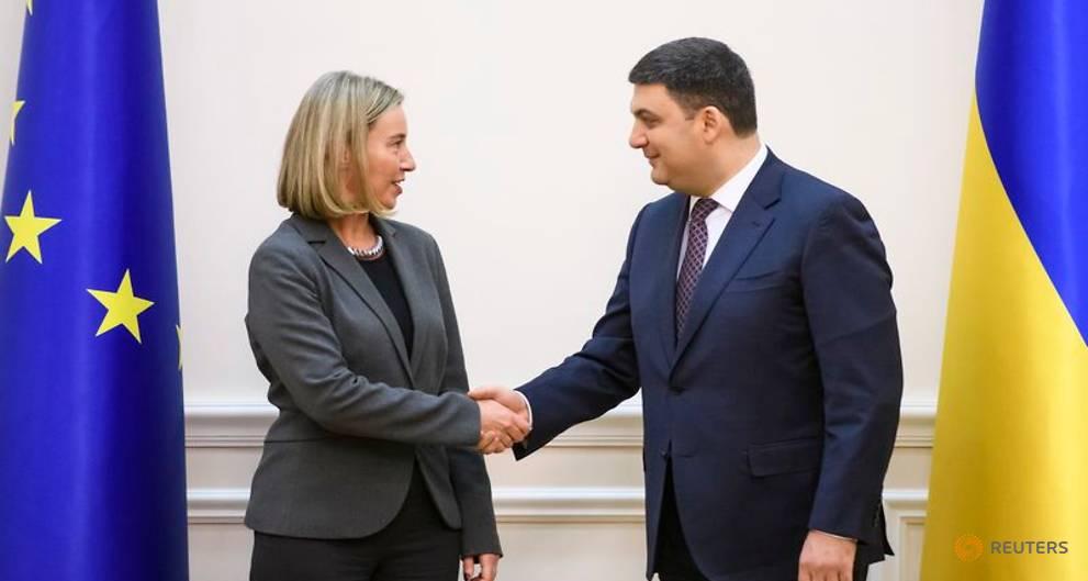 EU's Mogherini says Ukraine must do more to fight corruption