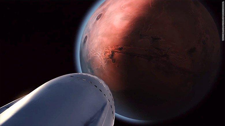 Elon Musk says his Mars rocket will fly 'short flights' next year https://t.co/RaarGgKZPA https://t.co/BWFamrqnMr