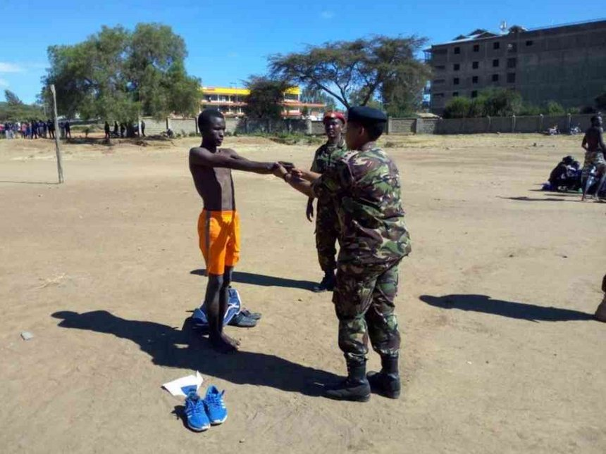 518 set for interviews after KDF recruitment