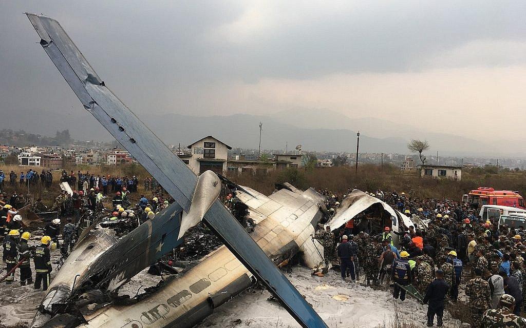 At least 40 killed as Bangladeshi passenger plane crashes in Nepal