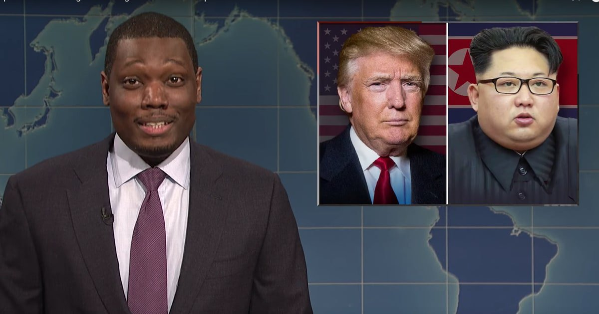 See #SNL's Weekend Update tackle North Korea Summit and Stormy Daniels https://t.co/ld9fsSJk9E https://t.co/W2mrFQMttv